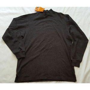NWT Briggs & Riley Men's Small Mock Neck Sweater